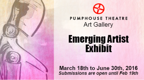 Web Graphic Emerging Artist Exhibit