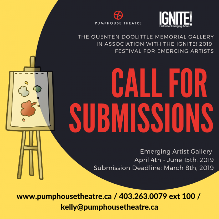Call for Submissions : Pumphouse Theatre